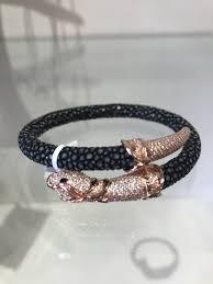 silver snake bracelet images Sterling silver snake bracelet rose cz live love nofo jpg