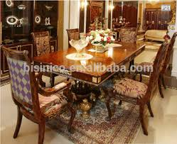 mahogany dining room set baroque style mahogany dining table palace solid wood