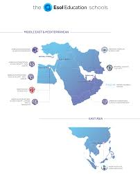 Dubai On Map Esol Education Our Schools