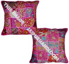 Wholesale Decorative Pillows 16x16 Decorative Patchwork Throw Pillows