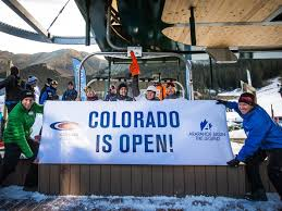 winter is coming opening days for 16 colorado ski areas