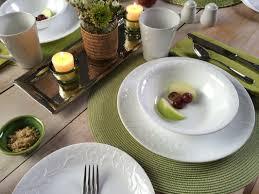 Corelle Square Dishes Corelle Boutique Bella Faenza 16 Piece Dinnerware Set Service For