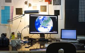 Studio Work Desk by I Am Relying On The Art World Not In Terms Of Income But In Terms