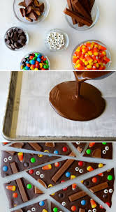 halloween kid party food halloween candy bark halloween party food ideas 17 ghoulishly