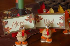 thanksgiving friendly craft turkey place card holders dma homes
