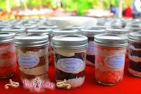 wedding cake jars cake in a jar pixy cakes