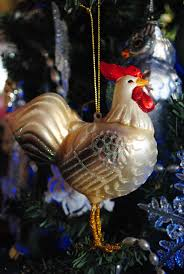 chicken ornaments decorating for the holidays ornament