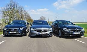 lexus allrad diesel bmw 540i xdrive lexus gs 450h mercedes e 400 test autozeitung de