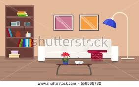 vector low poly living room stock vector 690870460 shutterstock