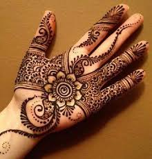 15 simple mehndi designs for palm styles at