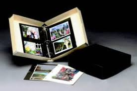 photo album 3 ring binder hollinger metal edge since 1945
