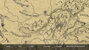Phoenix Road Map by A Quality World Map And Solstheim Map With Roads At Skyrim Nexus
