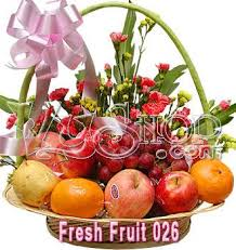 fresh fruit basket delivery vyshop the largest flowers delivery network