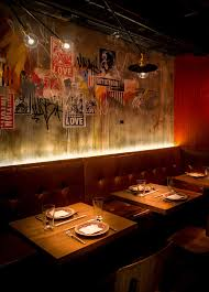 fatty crab hong kong uplighting behind banquette sweet the find this pin and more on restaurant interiors