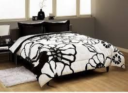 Black Floral Bedding Black And White Floral Bedding