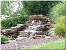 Backyard Waterfall Ideas by 13 Best Pond Waterfall Ideas Images On Pinterest Backyard