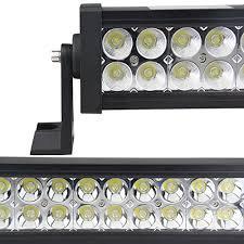 led security light bar amazon com led light bar northpole light 32 180w waterproof spot