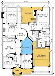 style house plans with courtyard orleans courtyard house plans