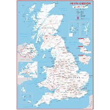 Map Of World Uk uk doodle map with crayons by maps international