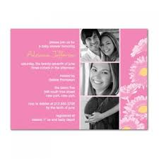 sunflower photo couples baby shower invitations bs065