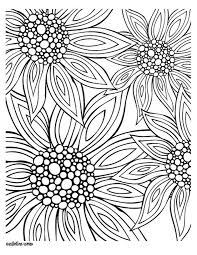 printable coloring pages for adults flowers summer coloring pages for adults free printables