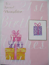 21st birthday card daughter ebay