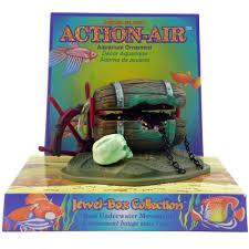 penn plax barrel w jewels aquarium ornament aquar