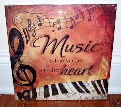 piano keyboard music is voice canvas 4 your home interior wall art