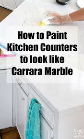 best paint to paint kitchen cabinets uk painting kitchen countertops to look like carrara marble