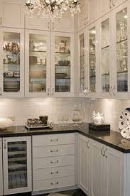 Kitchen Cabinet With Glass Doors Amelia Brightsides White Dishes Dishes And Kitchens