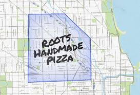 Quad Cities Map Chicago Pizza Delivery Map Piece Salernos Pequods And More