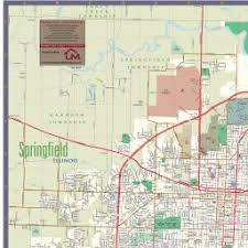 springfield map springfield illinois map