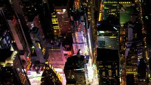 New York where to travel in august images New york city aerial footage illuminated skyscrapers modern night jpg