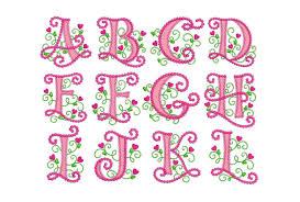 coupon codes alphabet applique machine embroidery design