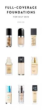 light coverage foundation for oily skin the best full coverage foundations for oily skin full coverage
