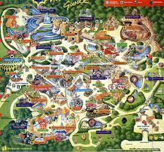 Harry Potter Adventure Map Theme Park Brochures Chessington World Of Adventures Theme Park