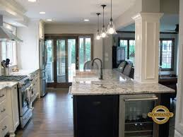 kitchen island columns column consultation incorporating columns into your design