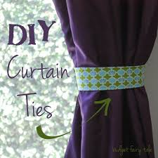 how to tie curtains diy fabric curtain ties this fairy tale life
