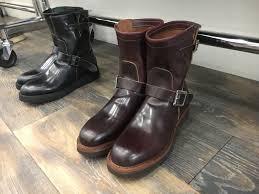 engineer boots needles engineered garments 8 shell cordovan engineer boots