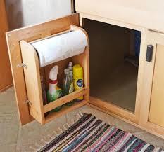 cabinet paper towel holder rv cabinet storage door with paper towel holder and shelf