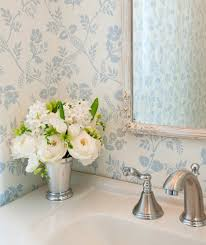 shabby chic powder room cottage bathroom leta austin foster
