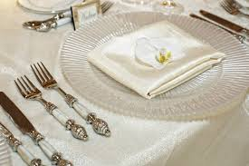 wedding silverware reception décor photos of pearl flatware inside weddings
