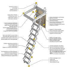 scale retrattili per soffitte scale retrattili per soffitte e sottotetti foro 45 x 90