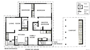 modern guest house plans space pool cabana floor home design and