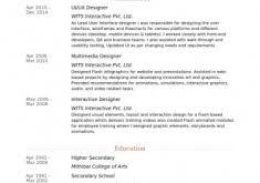 Ui Ux Resume Comp Sci Itsenior Uiux Designer Resume Ui Ux Designer Curriculum