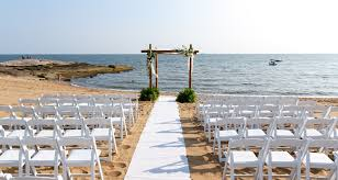 Wedding Venues In Connecticut Long Island Sound Beach Wedding Venue In Madison Ct