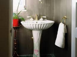 Powder Room Size Bathroom Sink Small Powder Room Ideas Mixed With Some Charming
