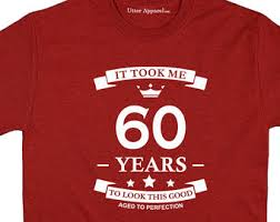 present for 60 year woman 60th birthday gift for vintage 1958 t shirt gift idea