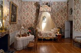 chambre de chateau photo chambre louis xv château de vaux le vicomte