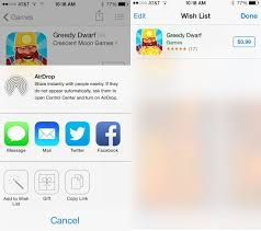wish list app use ios 7 beta s new app store wishlist feature to manage your app